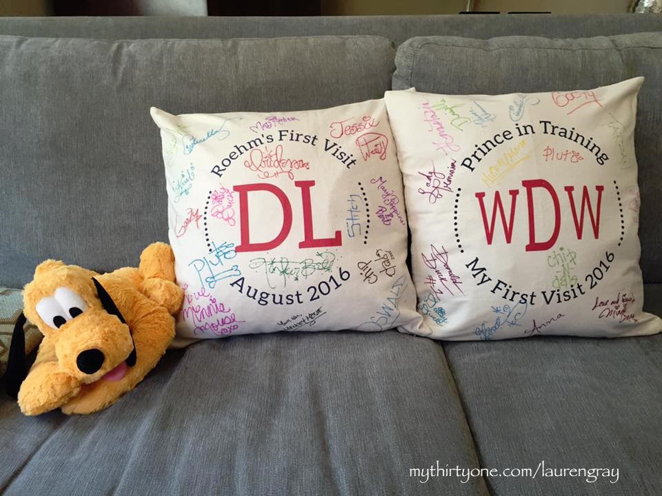 Disney pillows